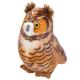 Audubon Bird: Great Horned Owl Plush With Real Bird Call