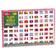 Flags of the World 500-Piece Jigsaw Puzzle