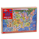 Map of the USA 200-Piece Jigsaw Puzzle