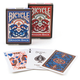 Bicycle Dragon Back Playing Cards - Blue/Red