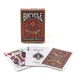 Bicycle Dragon Back Playing Cards - Gold