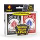 Bicycle Standard Cards 4 Pack - Black & Red