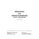 Breaking the French Barrier - Level 1 (Beginning) Teacher Test Packet (print)