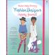 Sticker Dolly Dressing Fashion Designer Activity Journal