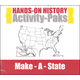 Hands-On History Activity-Paks - Make-A-State