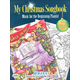My Christmas Songbook: Music for the Beginning Pianist with Holiday Coloring Pages