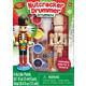 Mini Nutcracker Drummer Wood Ornament