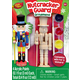 Mini Nutcracker Guard Wood Ornament