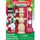 Mini Snowman Wood Ornament & Paint Kit