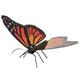 Monarch Butterfly (Metal Earth 3D Model Kit)