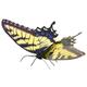 Tiger Swallowtail Butterfly (Metal Earth 3D Model Kit)