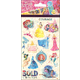 Disney Princess Standard Stickers (4 Sheets)