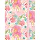 Floral Elastic Journal