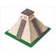 Wise Elk Construction Set - Mayan Pyramid 750 Pieces