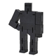 Cubebot Micro (Wooden Toy Robot) black