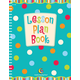 Lesson Plan Book - Dots on Turquoise