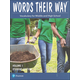Words Their Way: Vocabulary for Middle & High School 2014 Student Edition Volume I