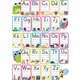 ABC Pictures Magnetic Mini Bulletin Board Set