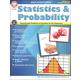 Statistics & Probability Math Activity Book
