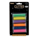 Fine Glitter Flip Top Bottle - Neon Colors