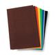 Sticky Back Stiff Felt Sheets Value Pack - Bold Colors (6