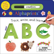 Trace, Write, and Learn ABC Board Book (Alphaprints)