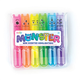 Mini Monsters Scented Neon Markers (set of 6)
