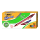 BIC Gel-ocity Quick Dry Retractable Gel Pen 0.7mm Assorted Colors (dozen)
