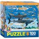 Sharks Puzzle - 100 pieces