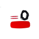 Swurfer Kick Plastic Swingboard Red