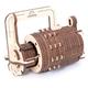 Ugears 3D Wooden Mechanical Model Combination Lock