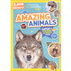 National Geographic Kids Amazing Animals Super Sticker Activity Book