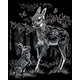 Engraving Art: Fawn and Bunny