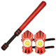 WhomBatz Ninja Tag Shoulder Armor/Bolt Pack - Red