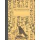 Decomposition 1-Color Design College Ruled Book - Hieroglyphics