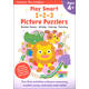 Play Smart 1-2-3 Picture Puzzlers 4+ Workbook