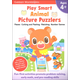 Play Smart Animal Picture Puzzlers 4+ Workbook