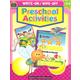 Write-On/Wipe-Off Preschool Activities