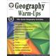 Geography Warm-Ups: Grades 5-8+