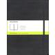 Classic Black Hardcover X-Large Notebook - Plain