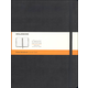 Classic Black Hardcover X-Large Notebook - Ruled