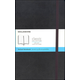 Classic Black Softcover Large Notebook - Dotted