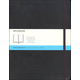 Classic Black Softcover X-Large Notebook - Dotted