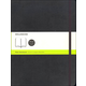 Classic Black Softcover X-Large Notebook - Plain