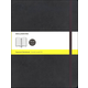 Classic Black Softcover X-Large Notebook - Squared