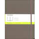 Classic Earth Brown Hardcover X-Large Notebook - Plain