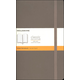 Classic Earth Brown Softcover Large Notebook - Ruled