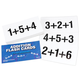 Addition Flash Cards - Three Addends (80 cards)