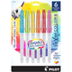 Frixion Colors Bold Point Marker Pens-periwinkle/light green/yellow/orange/red/pink
