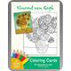 Vincent van Gogh Coloring Cards